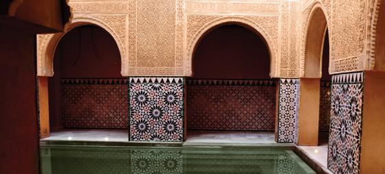 Andalusisk inspireret hammam i Málaga: Skrur tiden 700 år tilbake til maurernes tid i Andalucía