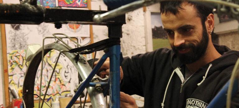Sykkelen i medvind i Málaga