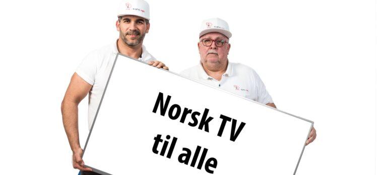 Norsk TV og masse service til alle