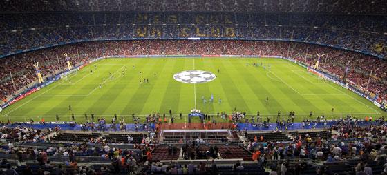 Fotballhistorie og besøk på stadion Camp Nou