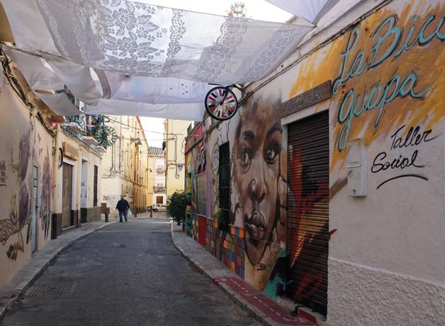Nytt Soho-kvartal vokser fram i Málaga