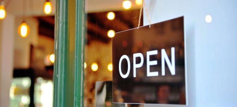Åpen for business etter coronakrisen