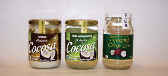 Kokosolje – Ideell i lavkarbohydrat kost og stimulerer fettforbrenningen