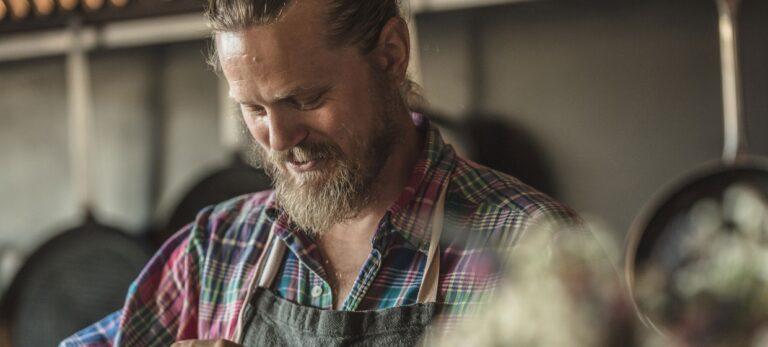 Skandinavisk kokk på biodynamisk boutiquehotell i særklasse