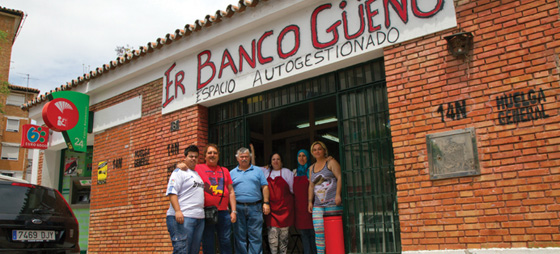 Se! En snill spansk bank!