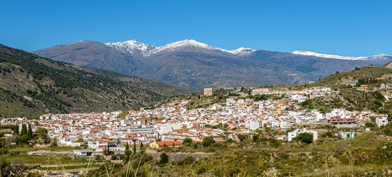 Vélez de Benaudalla og Cerro del Toro ved Motril