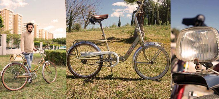 Vintagecykler: Veteransykler i Málaga- Lærsaler, blankpolert krom og lysende dynamoer