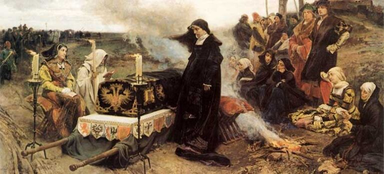 Glimt fra spansk historie Juana la Loca – Johanna den gale