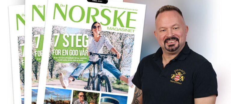 Velkommen til Det Norske Magasinets april-utgave 2020!
