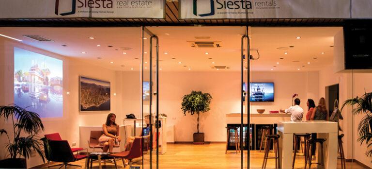 Siesta Real Estates kunder får nærhet og fantastisk service