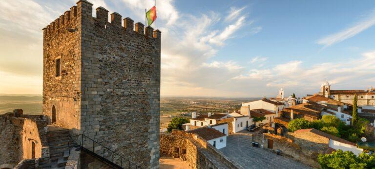 Bautastein og megalittsirkler ved Evora og Portugals mest autentiske by Monsaraz