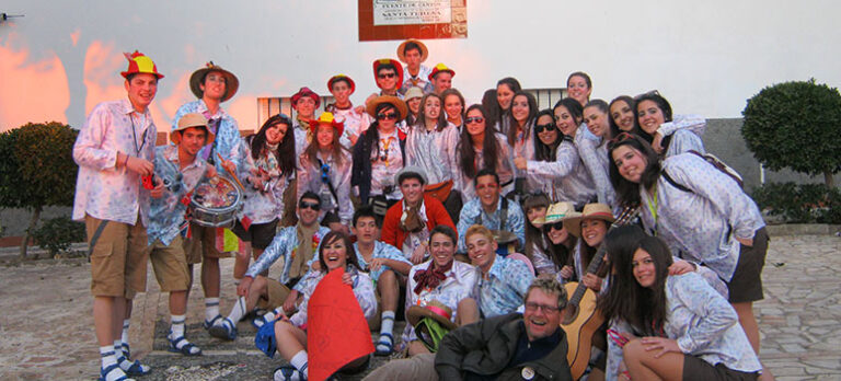 Karneval på Caminoen