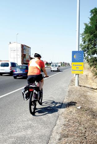 9. Sykkel camino