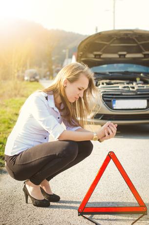 Hva bør jeg gjøre i tilfelle en bilulykke?