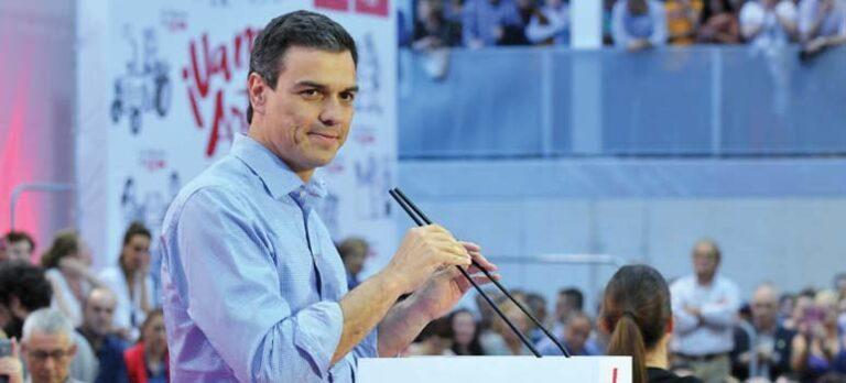 Den nye mannen i spissen for PSOE
