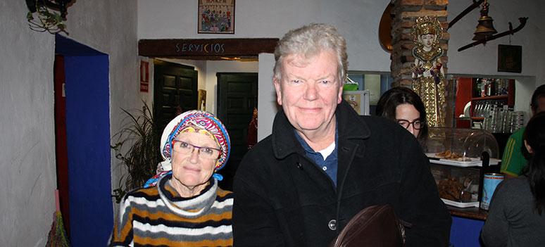 Christine og john