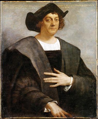 Columbus portrett