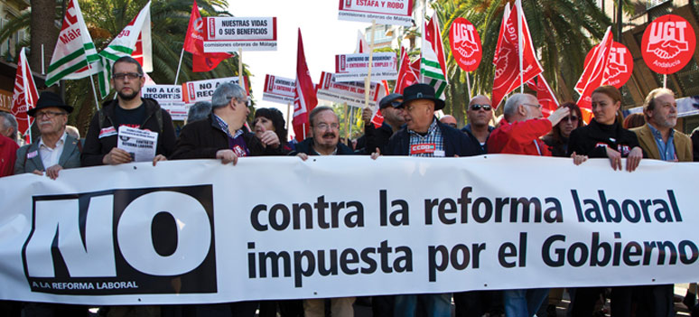 Demonstrasjon-Malaga