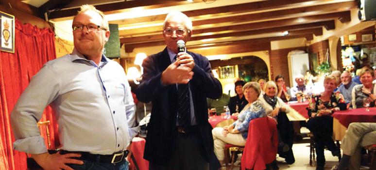 Per Sandberg og Eirik Petterson 2 nov. 2013