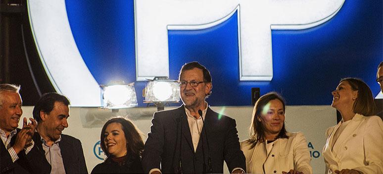 Rajoy Ny regjering pa plass