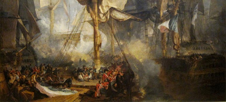 Glimt fra spansk historie: Slaget ved Trafalgar