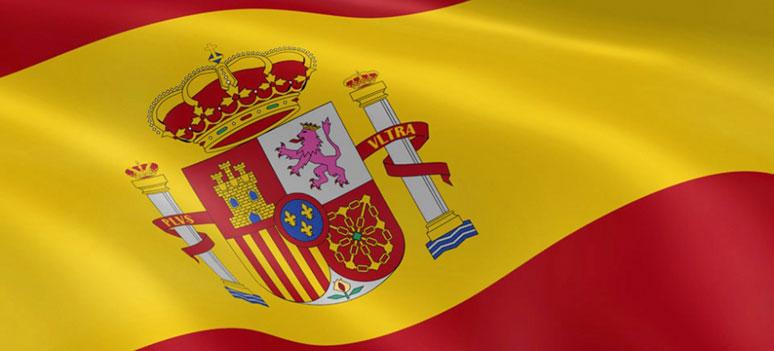 Spania-flagg