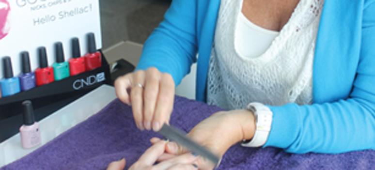 Una Nails foto til Shoptalk DNM nov 2013