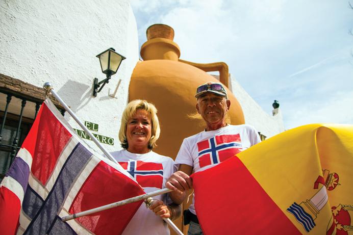 Internasjonale dager 2016 i Fuengirola: Norge eneste skandinaviske deltaker