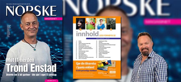 Velkommen til Det Norske Magasinets oktober-utgave 2019!