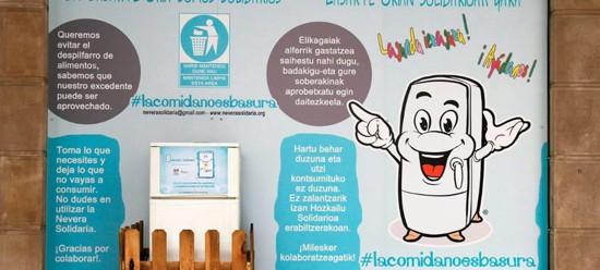 Nevera Solidaria:Solidarisk kjøleskap – Miljøvennlig og tilgjengelig for alle