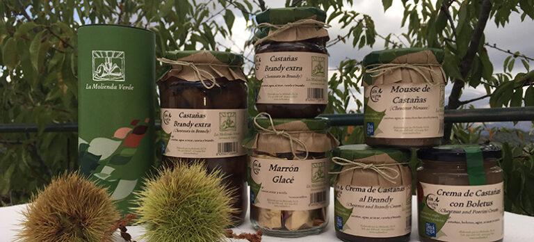 La Molienda Verde disker opp med kastanjeprodukter og Gin & Tonic-marmelade