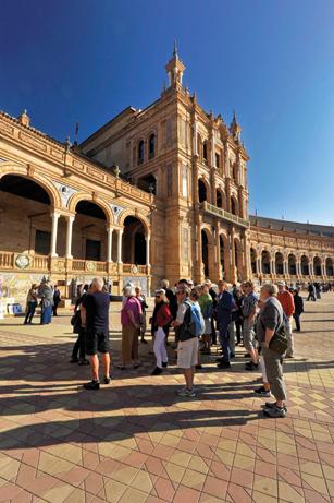 Sevilla – menneskene, historien og minnesmerkene – En guidet tur inn i kulturhistorien.