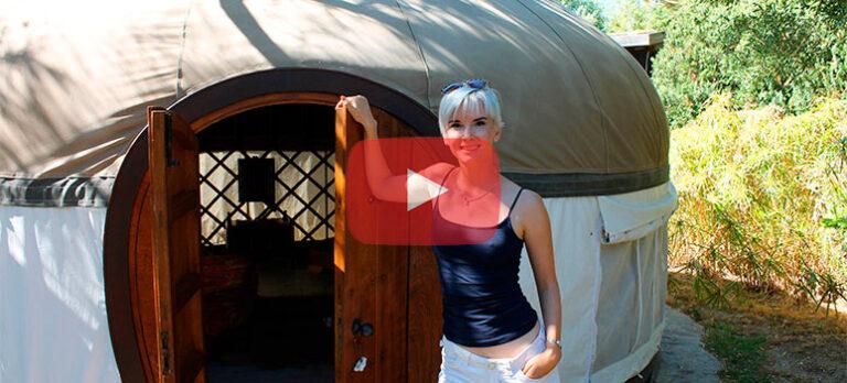 Tarifa – mongolske telt og militære bunkers