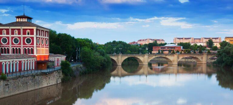På et raskt besøk i Logroño, hovedstaden i vinprovinsen La Rioja