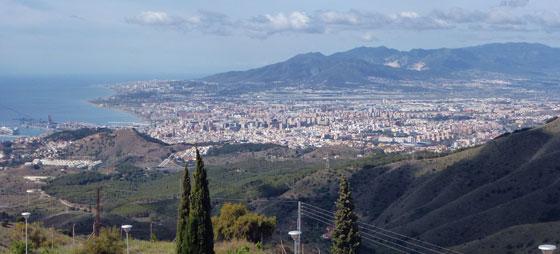 Montes de Málaga – storbyens grønne lunger
