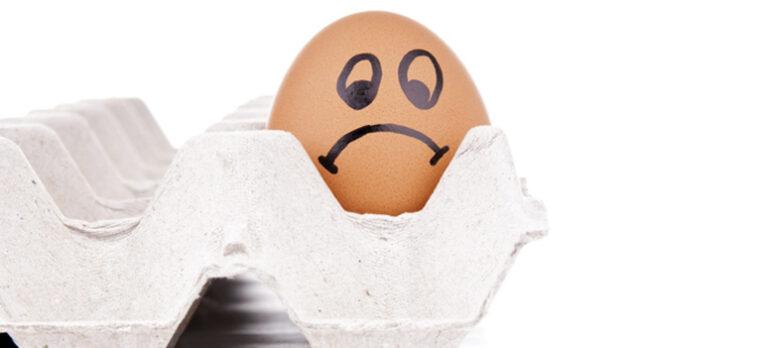 Hvorfor ditt og hvorfor datt? Hvorfor legge egg til kjøling?