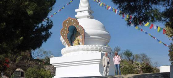 På besøk hos Buddha