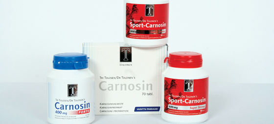 Carnosin Antialdringsmiddel