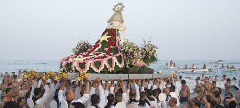 Spansk festivitas: La Virgen del Carmen