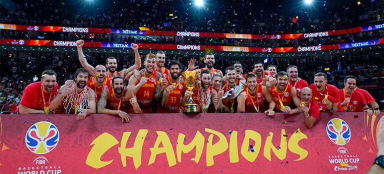 Spania er verdensmester i basketball