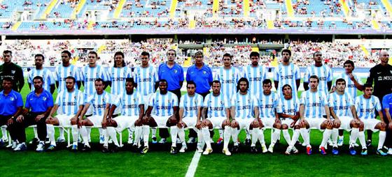 Málaga CF snuser på Champions League