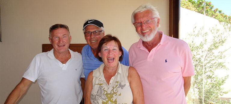 Los vikingos startet høstsesongen på los olivos golfbane 23. september 2018