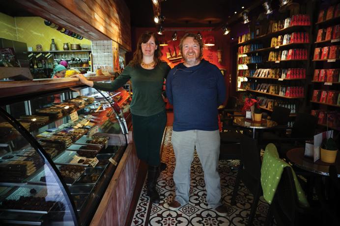 Sabor a Málaga: Sjokoladefabrikk med fokus på kvalitet og smak