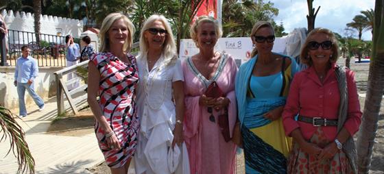 Dagens arrangører Susanna fra Anbad, samt Caroline og Nina fra Nina B