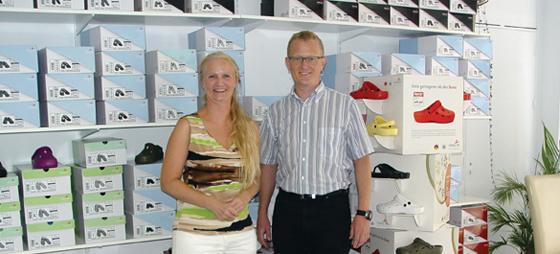 Christine og Jannich fra Shop Cristina