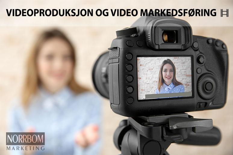 Videoproduksjon og video markedsføring