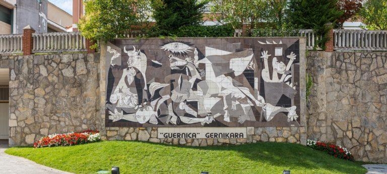 Til baskernes hjerteland, Guernica