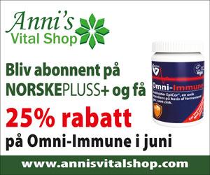 25% rabatt på Omni-Immune i juni