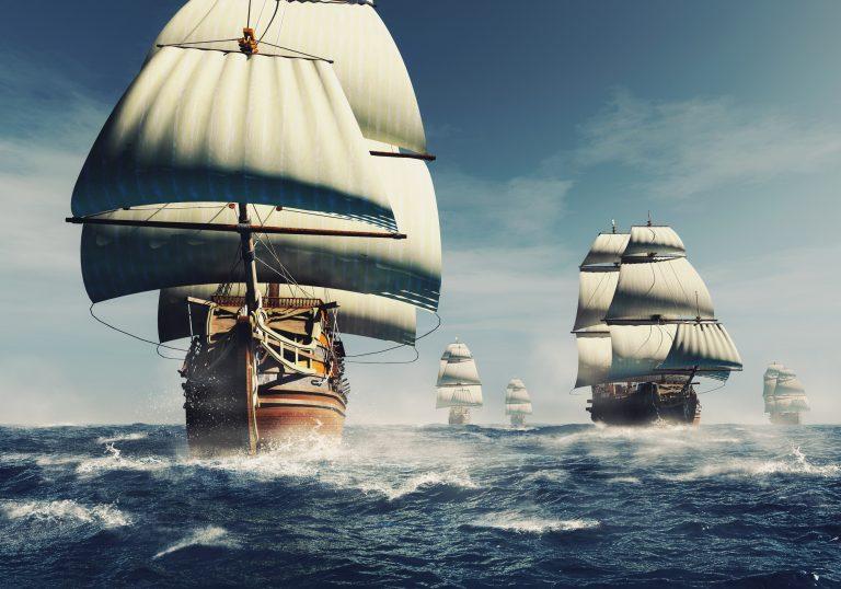 Litt historie: Den uovervinnelige spanske flåten
