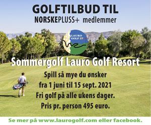 Golftilbud hos Lauro Golf